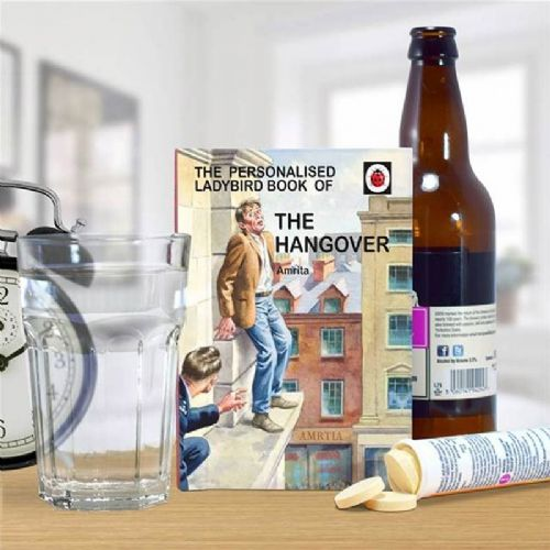 Personalised The Hangover: A Ladybird Book